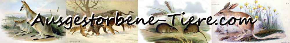 Logo ausgestorbene Tiere